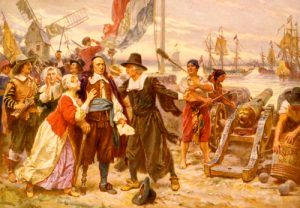 The fall of New Amsterdam, J.L.G. Ferris