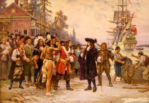 The landing of William Penn, J.L.G. Ferris