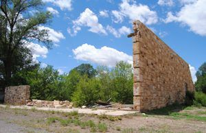 Watrous, New Mexico Ruins