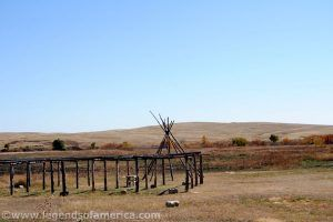 Wounded Knee Battlefield, South Dakota