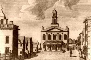 court house in Salem Massachusetts, Samuel Hill, 1790