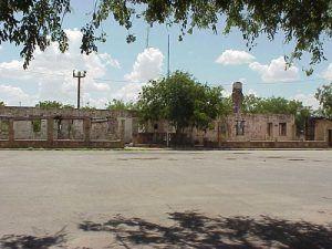 Fort Duncan ruins