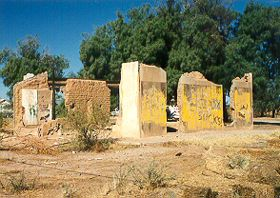 Old Fort McDowell, photo by Tom McCurnin, courtesy Ghosttowns.com