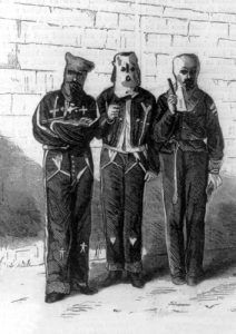 KKK, Illustrated in Harper's Weekly, 1872.