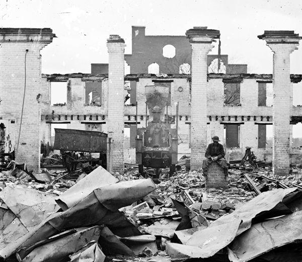 Richmond, Virginia Ruins