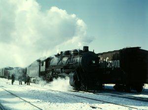 Atchison, Topeka & Santa Fe Railroad, Chicago, Illinois, 1943
