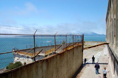 Alcatraz Recreation Yard