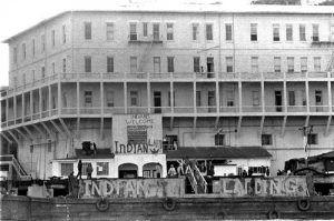 Alcatraz Indian Landing