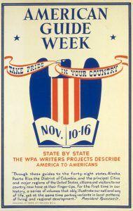 American guide week, FWP, 1941