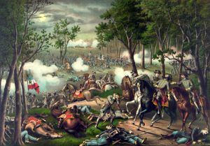 Battle of Chancellorsville, Kurz and Allen