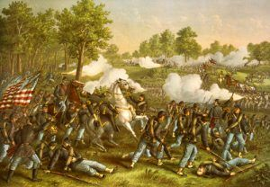 Battle of Wilsons Creek, Missouri in the Civil War