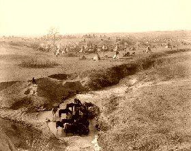 Brule Village, 1891