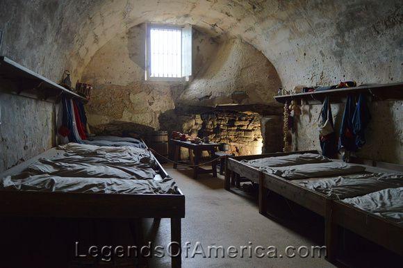 Castillo de San Marcos Soldier Quarters