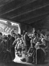 Chinese immigrants at the San Francisco custom-house, by P. Frenzeny 1877