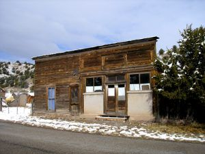 False Front building, Chloride, New Mexico