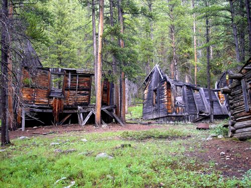 Coolidge Montana Ghost Town