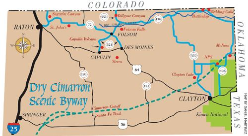 Dry Cimarron Scenic Byway Legends of America