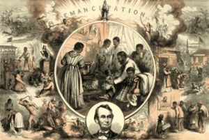 Emancipation by Thomas Nast