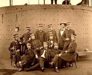 Federal Navy Officers, 1862