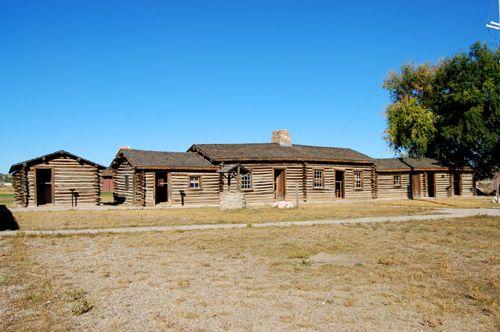 Fort Caspar, Wyoming Living Quarters