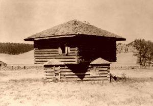 Fort Logan, Montana Blockhouse