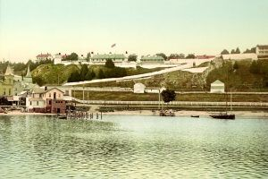 Fort Mackinac, Michigan by Detroit Publishing, 1899