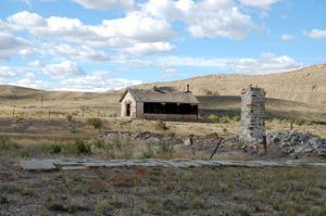 Fort Fred Steele Buildings