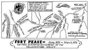 Fort Pease vicinity map