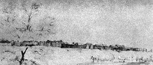 Fort San Bernardino by William R. Hutton,1852