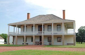 Old Fort Scott Hospital now Visitor's Center