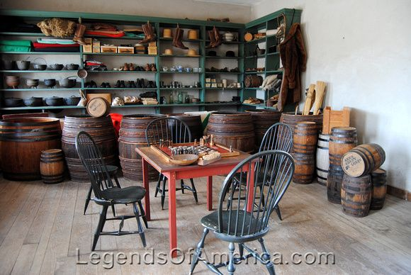 Fort Snelling, MN - Sutler Store Interior