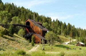 Gold Coin Mill, Cable, Montana