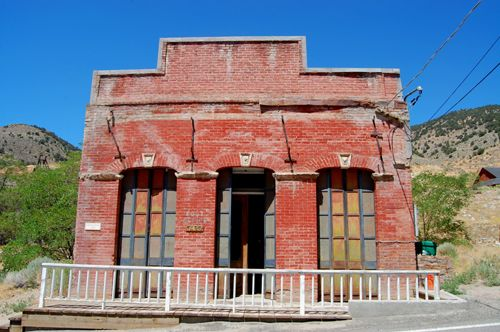 Gold Hill, Nevada Bank building
