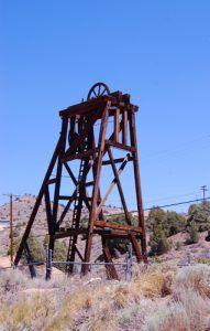 Gold Hill, Nevada Keystone Headframe
