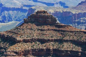 The Grand Canyon, Standing Tall. Photo by David Fisk,