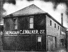 Madam C J Walker Manufacturing Company, Indianapolis, Indiana