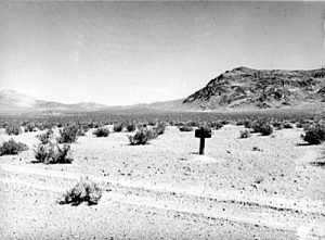 Many believe the lost Breyfogle Mine is in Nye County, Nevada.