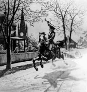The ride of Paul Revere