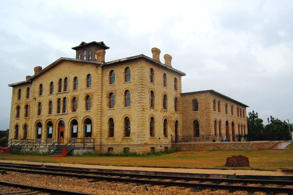 The Dousman Hotel, built 1864-65, is associated with Prairie du Chien's role in post-Civil War transportation on the upper Mississippi.