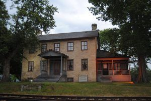 Brisbois House at Prairie du Chien, Wisconsin