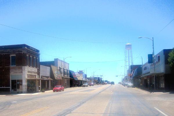 Shamrock to Lela – Texas Main Street Cities – Legends of ...
