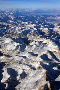 Sierra Neavada Mountain Range