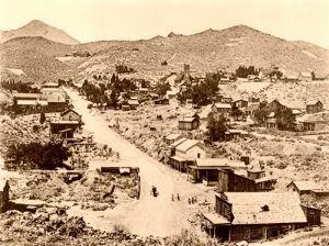 Silver City, Nevada, 1890