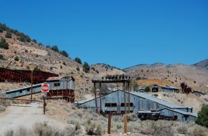 Silver City Mining Remnants