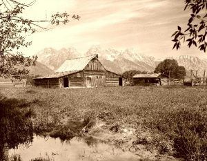 Barn in the Grand Tetons, Wyoming