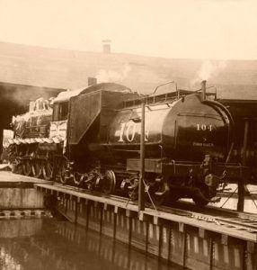 Union Pacific Railroad Engine