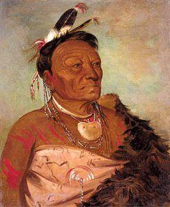Wee-tá-ra-shá-ro, Head Chief of the Wichita Tribe