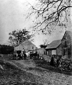A farm in Boxford in about 1850