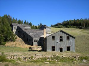 The Comet Mill in Montana was built during the town's second boom in the 1920s, Kathy Weiser-Alexander