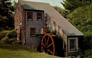 The Jewell Mill in Rowley still stands